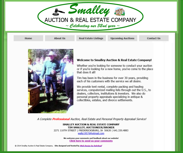 Smalley Auction and Real Estate Company